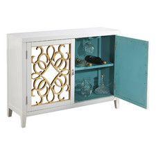 Marleigh Mirrored Wine Cabinet