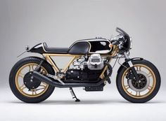 Moto Guzzi Le Mans Motorcycle. 3