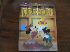 PRINCE-and-the-PAUPER-walt-disney-HB-budget-books