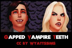 Details: Available for both genders. Available for non-vampires. Available for Teen-Elder. Found in the 'Teeth' sect. Sims 4 Cc Packs, Sims 4 Mm Cc, Sims Four, Sims 4 Controls, The Sims 4 Skin, Gap Teeth, Vampire Teeth, Sims 4 Cas, Sims 4 Build