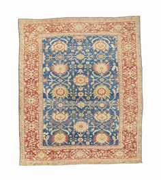 ZIEGLER CARPET  SULTANABAD DISTRICT, WEST PERSIA, CIRCA 1880    13ft.2in. x 10ft.11in. (400cm. x 330cm.)