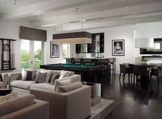 Game Room - Herscoe Hajjar Architects - Naples, Florida