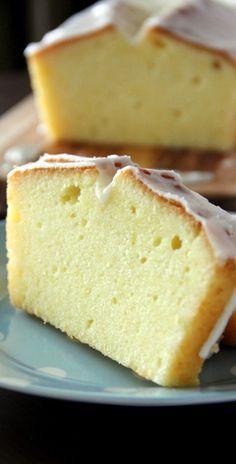 Meyer Lemon Pound Cake - citrusy, rich, buttery pound cake glazed with lemony sugar!! Sweetness overload!! | rasamalaysia.com