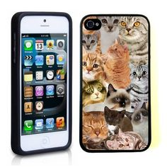 iPhone 5/5S - Cats Galore in Every Shade from Cool Mobile Accessories