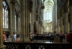 inside Cologne cathedral, hand - held, no flash Cologne Germany, Cultural Experience, Gothic Architecture, Old City, Old Town, Medieval, Museum, Fine Art, History