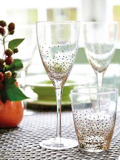 Trucos para preparar las mejores fiestas en tu casa #copas #cristalería