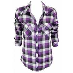 Rails Kendra in Purple White as seen on Ashley Greene ❤ liked on Polyvore