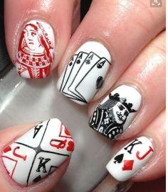 #Nail #Art - #Casino Theme