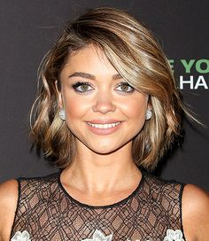 Sarah Hyland Photo - Celebs with Bob Hairstyles - Us Weekly