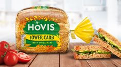 Hovis New Lower Carb Range on Packaging of the World - Creative Package Design Gallery