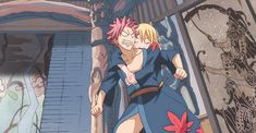 NaLu! Lucy is sooooo drunk, and then Levy! XD