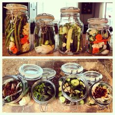 Home made pickles!