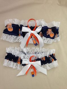 University of Illinois Garter by SportzNutty on Etsy