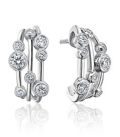 Boodles - Raindance Hoop Earrings