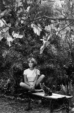 Mijanou Bardot by Jeanloup Sieff