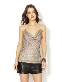 Caviar Beaded Halter Top by Haute Hippie at Gilt