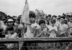EDSA People Power 1986 | scene from the 1986 EDSA Revolution. Power To The People, World History, Filipino, Philippines, Revolution, Catholic, Scene, In This Moment, Photography