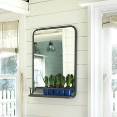 Portrait Danube Carriage Mirror | Mirrors | Graham and Green