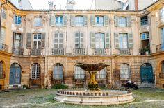 Place d'Albertas , Aix-en-Provence