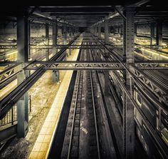 NYC Subway by Marc Perrella, via 500px