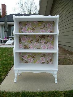 My Third True Love: Girly bookcase makeover - {LOVE}