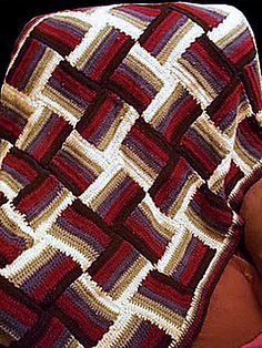 Ravelry: Project Gallery for Sonoma Baby Blanket pattern by Treva McCain