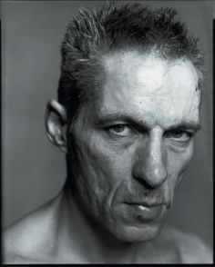 Awarded dutch portrait photographer Koos Breukel takes his intense black&white portraits with large format cameras. Male Pose Reference, Face Reference, Photo Reference, Face Study, Model Face, Face Expressions, Black And White Portraits, Character Portraits, Drawing Poses