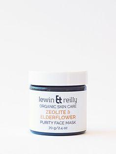 lewin & reilly | organic skin care Purity Face Mask - Zeolite & Elderflower