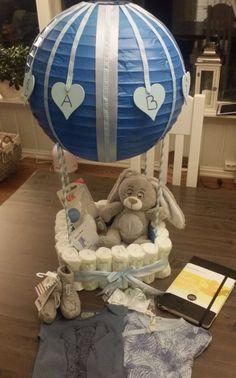 Luftballong baby shower