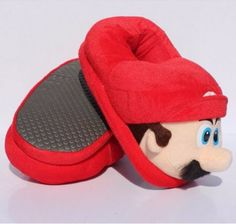 Shopo.in   Buy Mario Plush Slippers online at best price in New Delhi,  India. Mémé · chaussons 14a10e542cbc