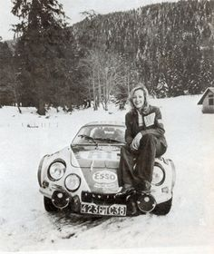 Alpine rally in the 1960s.