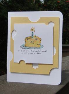 Giggle Greetings - cheese