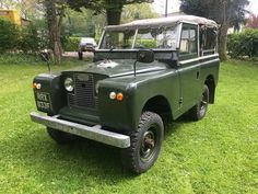 """Land Rover Series 2a 1968 88"""" 2.25 petrol, Full Canvas For Sale"""