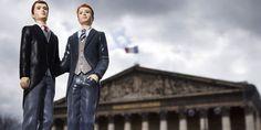 Le projet de loi ouvrant le mariage et ladoption aux couples de même sexe a été définitivement voté à lAssemblée, mardi 23 avril. | AFP/JOEL SAGET