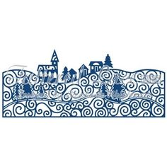 Tattered Lace Village Scene Cutting Die D488 - Was £10.00