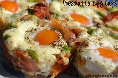 Prosciutto Egg Cups - Mrs Happy Homemaker