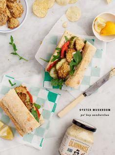 Oyster Mushroom Po' Boys / loveandlemons.com, post #sponsored by @sirkensington