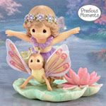 Precious Moments Life Is   So Uplifting With My Fairy  Best Friend Figurine
