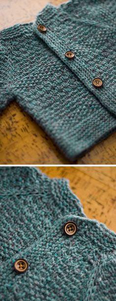Baby Tweed - Knitting Cardigan - knitting is as easy as 3 knitting . - Baby Tweed – Knitting Cardigan – Knitting is as easy as 3 Knitting boils down to three es - How To Start Knitting, How To Purl Knit, Knitting For Kids, Easy Knitting, Knitting For Beginners, Knitting Projects, Beginner Crochet, Baby Knitting Patterns, Crochet Pattern Free