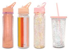 Sparkly drinkware available online with The Paper Parlour.