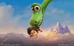 Pixar's The Good Dinosaur wallpaper hd featuring characters Arlo the Apatosaurus, Spot, Butch, Ramsey and Nash. The Good Dinosaur iphone wallpaper hd and wallpapers for android. Disney Pixar Movies, Disney Disney, Disney Love, Arlo Und Spot, Disneyland Ideas, Dinosaur Wallpaper, The Good Dinosaur, Disney Cosplay, Disney And More