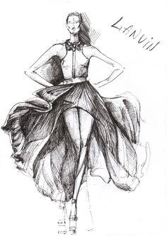 Free Fashion Design Sketches | Dropship Fashion