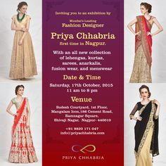 7d97922ac80 116 Best Indian Fashion by Priya Chhabria images in 2019