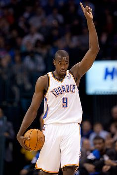 My ball by Serge Ibaka, via Flickr