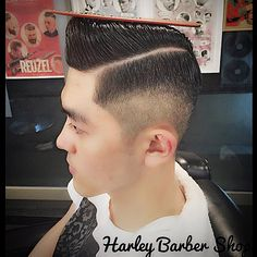 Slick Hairstyles, Undercut Hairstyles, Great Haircuts, Haircuts For Men, Brylcreem Hairstyles, Hair Pomade, Japanese Hairstyle, Comb Over, Asian Style