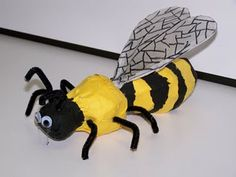 Bee sculptures