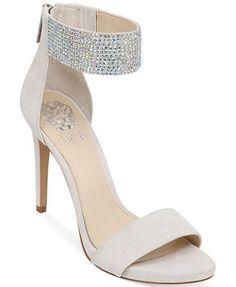 Too light?  Vince Camuto Fyell Two-Piece Platform Evening Sandals