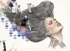 'Fashion & Beauty' by Sohyeon Kim by Magnet Creative , via Behance