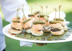 Braai Wedding Theme - ideas on twisting the typical association of a braai into a very South African and oh-so stylish wedding theme! Casual Wedding, Rustic Wedding, Wedding Ideas, Wedding Decor, Mini Hamburgers, Burger Bar, Backyard Bbq, Wedding Catering, Alternative Wedding