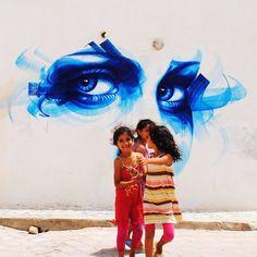 Dan 23 à Djerbahood en Tunisie pour une exposition à ...